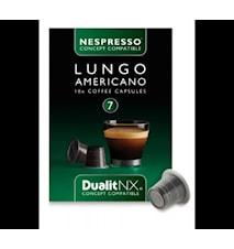 Kaffekapsel Lungo America N/X 10-pack
