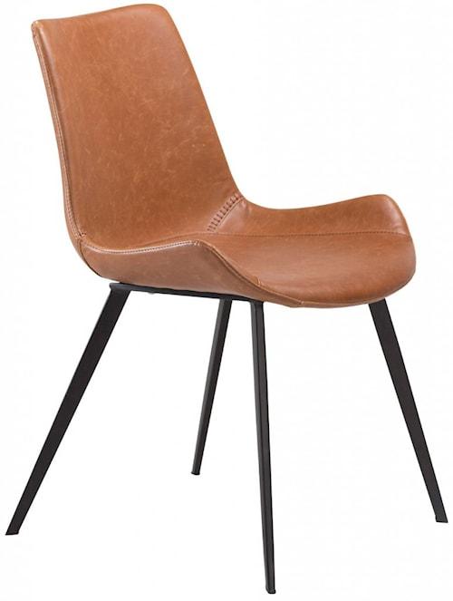Hype stol – Ljusbrunt konstläder