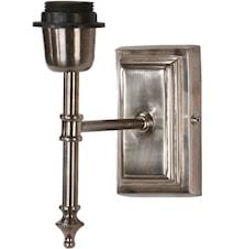 Classic Vägglampa Antiksilver 20cm
