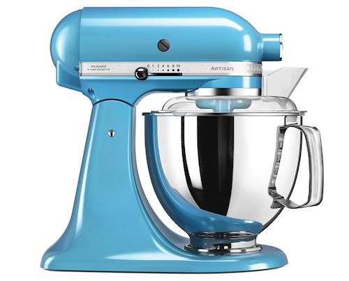 Artisan 175 Kjøkkenmaskin 4,8 liter Crystal Blue