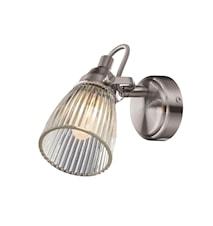 Lada Vegglampe Stål