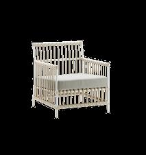 Caroline Chair inkl. pute - Grå