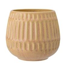 Blomkruka Stone Gul Ø16,5 cm