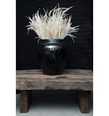 LW urn L urna - Sparkling black