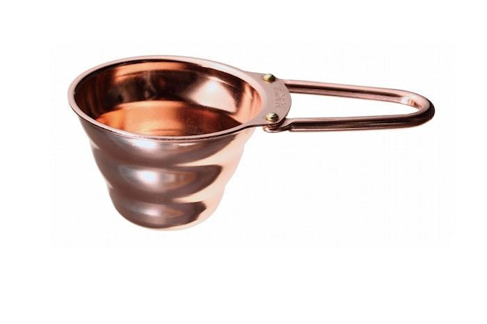 Kaffemål Copper