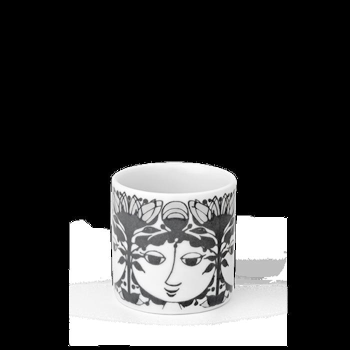 Lyslykt, Linette, grå, H6 cm, sylinder