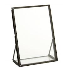 Frame on stand, black, medium