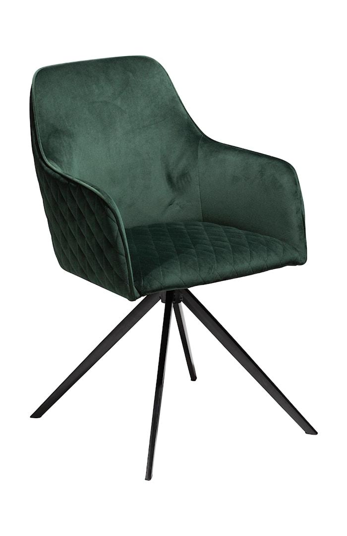 Stol Twine Velour - Emerald Grön