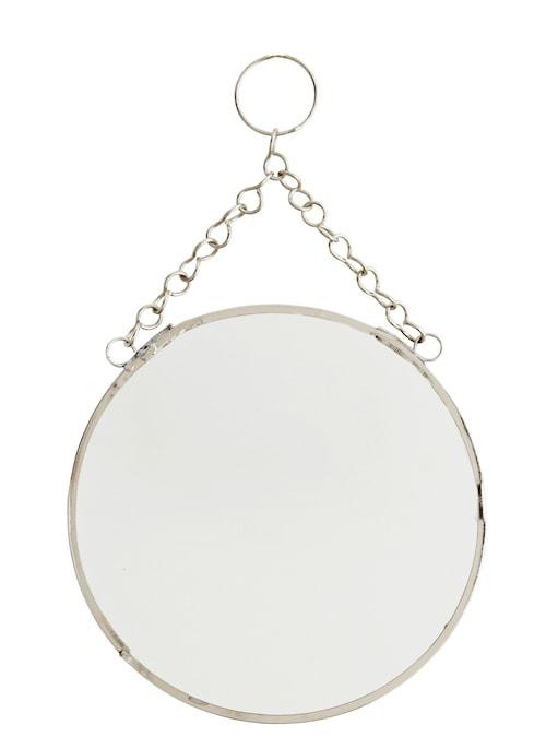 Rund spegel Ø 15 cm - Silver