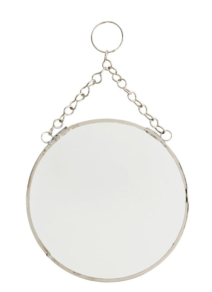 Rund spegel Ø 15 cm Silver