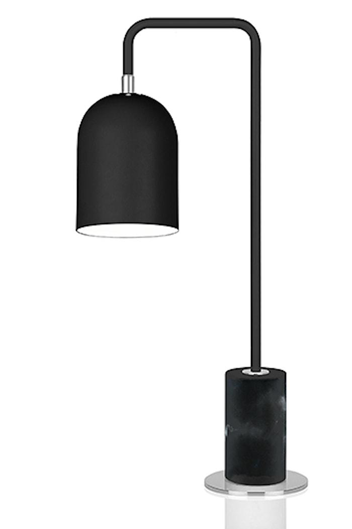 Bordlampe Bend Svart