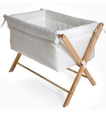 Miniseng X-crib Off-white