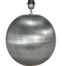 Globe Lampfot Pale Silver 23cm