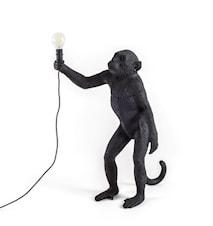 Monkey Lamp Utomhus Stående Svart