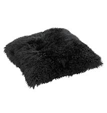 Sheila Kudde Extra Large 70x70 cm - Black/Black
