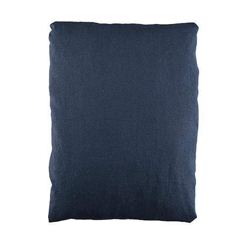 Påslakan linne 150x210cm - Mörkblå