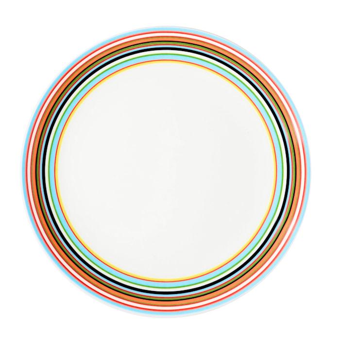 Origo Tallerken 20 cm oransje