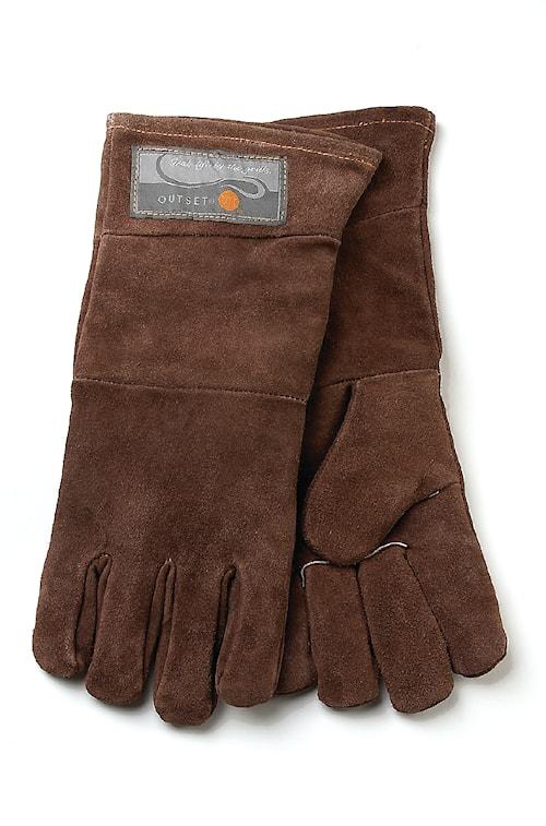Outset grillhandskar i läder (one size)