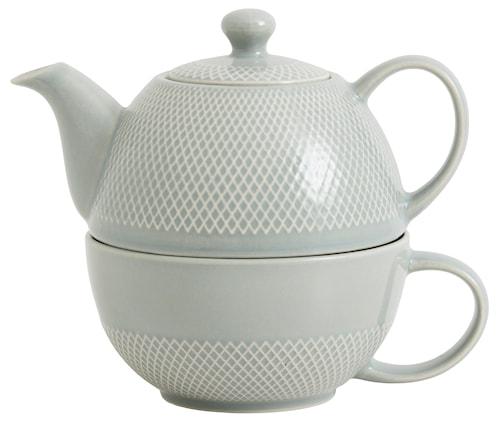 """Tekanna """"Tea for one"""" Ø 12 cm - Grå"""