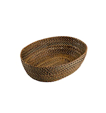 Bread basket oval 24,5x18cm