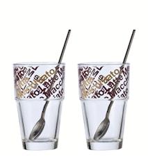 Solo Glas Kaffe Latte 4 dele