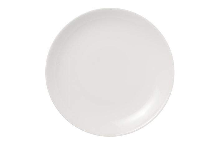 24h Tallerken 26 cm hvid