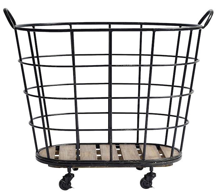 Downtown iron basket
