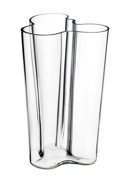 Aalto Vase 251 mm klar