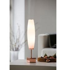 Micro Zenta bordlampe - Kobber, Hvit