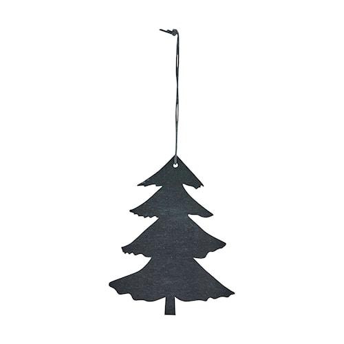 Ornament Pine 12 cm - Svart