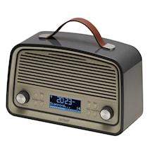 DAB+ & FM-radio retro-tyyli