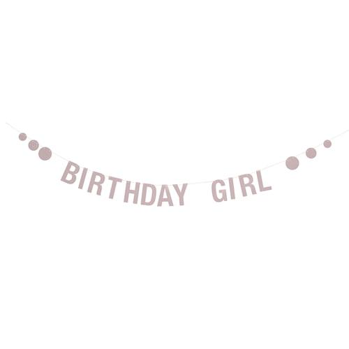 Girlang Birthday - Rosa