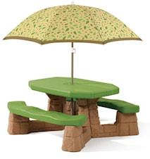 Möbelgrupp inkl. parasoll