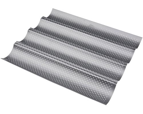 Silvertop Baguetteform 38cm Stål, 4st