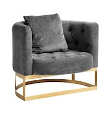 Lounge fåtölj - Grå