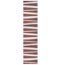 Åre Choklad/vit matta 3 m