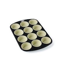 Muffinform Grå/Creme 25 cm