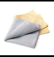 Rengöringsset för rostfritt stål (2 dukar) Grey / Yellow