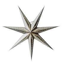 Vintergatan Julstjärna slim 80 Silver