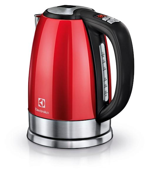 EEWA7700R Vattenkokare med Justerbar Temperatur 1,7L Röd