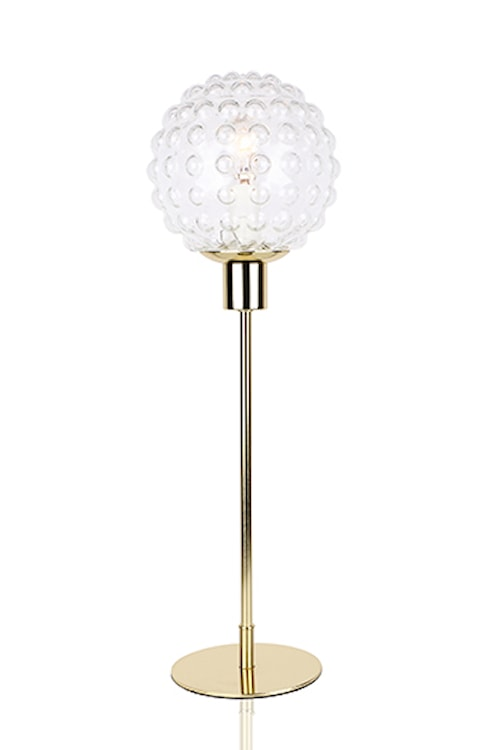 Bordslampa Spring High Klar/Mässing