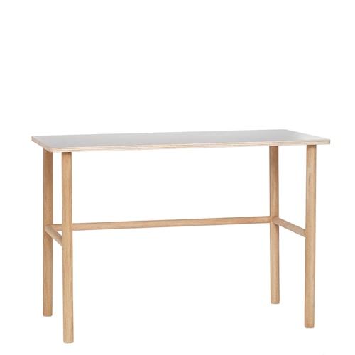 Skrivbord 110x57xh75 cm Natur/Grå