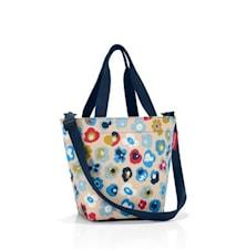 Shopping väska XS Blommig 4 L