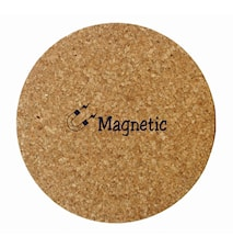 Korkunderlag med magnetinnlegg, rundt