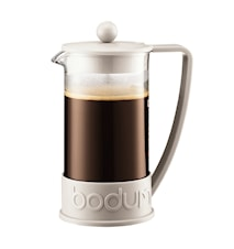 Brazil Kaffebryggare 8 koppar 1L Vit