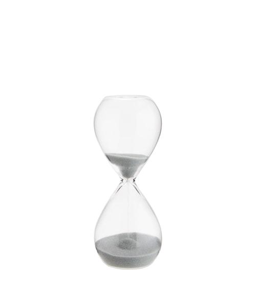 Timeglass Ø 5 cm - Klart