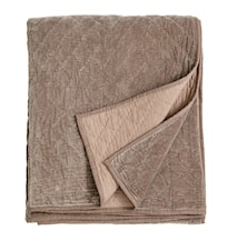 Sängöverkast Quilted 220x270 cm - Beige