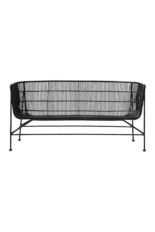 Soffa Coon 140x70x65,5 cm - Svart
