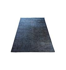 Silk Dark blue Gulvtæppe - 80x200