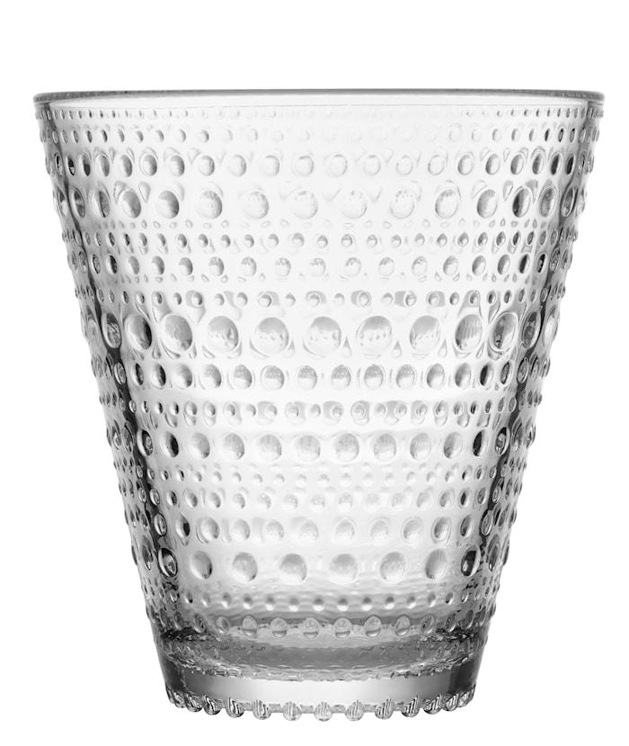Kastehelmi dricksglas 30cl Klar 2-pack